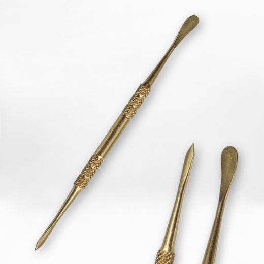 dabber Stainless steel tool Gold