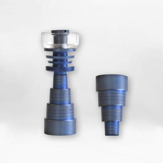 nail titanio cuarzo 6x1 azul