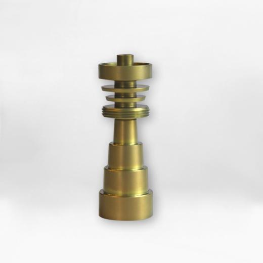 nail titanio gold 6x1