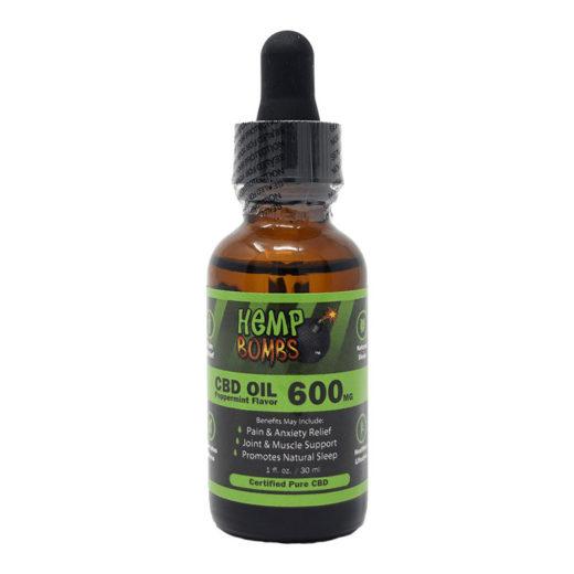 aceite hemp bombs 600 mg