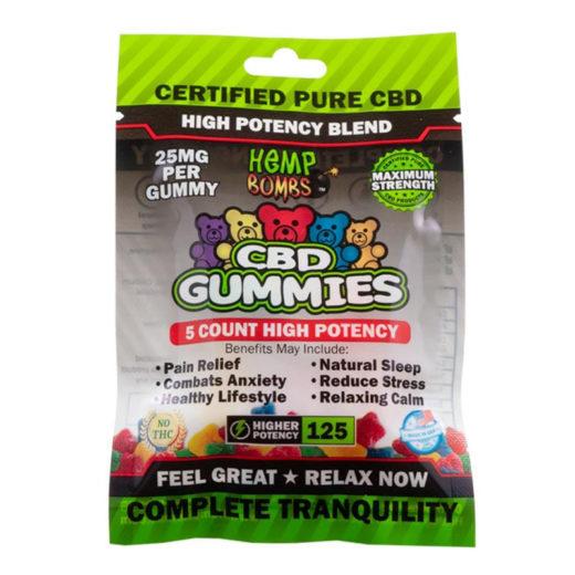 gomitas 125 mg